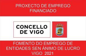 Fomento do emprego de entidades en ánimo de lucro. Vigo 2021